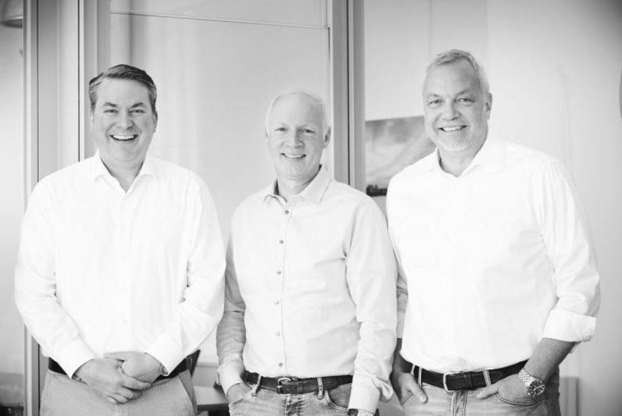 ARKADIA Partner Markus Stratmann Bert Hölscher Helge Brunnckow